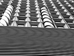 Architectural Study Lower Manhattan (Stephen Sandoval) Tags: life nyc newyorkcity blackandwhite building architecture flickr popart finepix fujifilm gothamist documentation lowermanhattan onthemove curbed popularculture obsessivephotography stephensandovalcom pursueblisscom s8100fd gnneniyisithebestofday aviewoftheworld