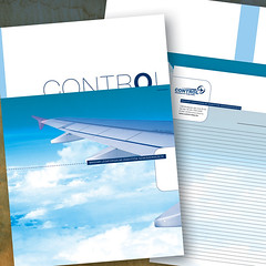 control_2007 (sarkanylatvany) Tags: design flying graphic air identity envelope a4 folder 2007 scratchpad