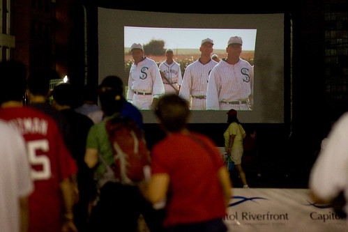 Capitol Riverfront Field of Dreams screening