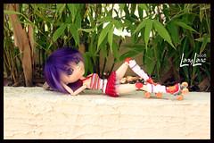 Roller Girl (.LanyLane.) Tags: bigeyes doll roller pullip purplehair poupe plasticdoll junplanning suiseiseki thoxane pullipsuiseiseki