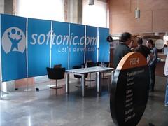 Stand de softonic en el phpwokshop2008