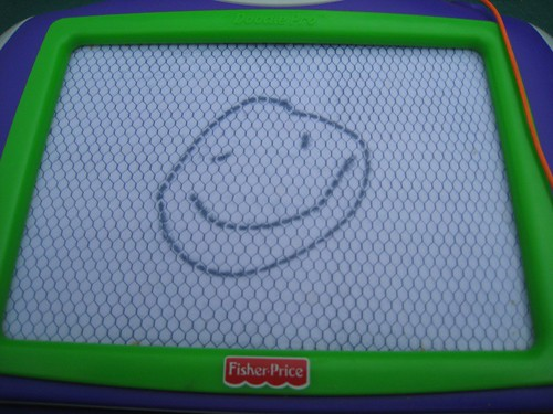 Leelo Draws a Happy Face