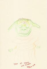 Yoda sketchbook page 74 - Dash Shaw