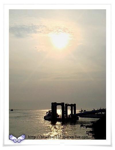 080504淡水散步12_碼頭夕照