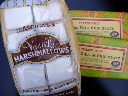 Marshmallows + Chocolate + ? = Delicious Awesomeness