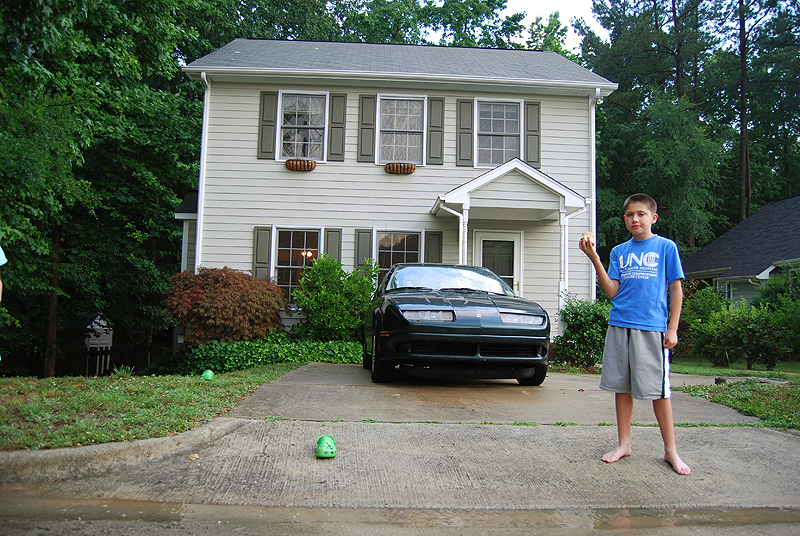 Peter in Front of the House
