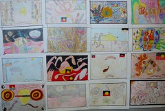 NAIDOC artwork from 5P @ Penrith PS
