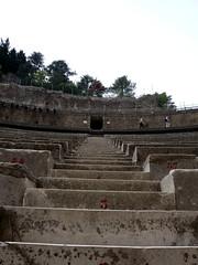 Theatre stairs (buzzt) Tags: world orange france heritage stairs de lumix la site frankreich theater theatre roman unesco worldheritagesite panasonic provence dmc treppen römisch humanidad patrimonio fx10 dmcfx10 ph312 buzzt75