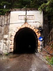 合歡山隧道,暗到不見對面