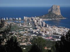 IMG_0306 (Silvan Mugliett) Tags: travel sea espaa nature trekking landscape spain hiking espagne spanien calpe costablanca ifach calp penyaldifach peondifach sierraolta