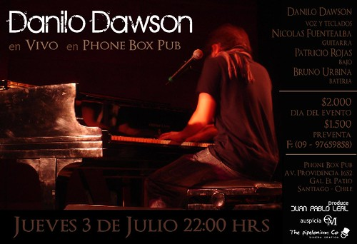 Danilo Dawson en Phone Box