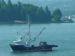 canadaday fishingboat coalharbour