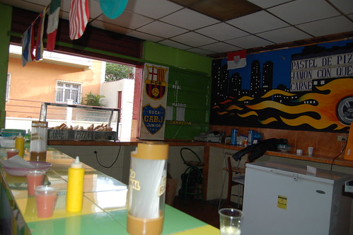 Footbal Bar where to go for breakfast in Merida