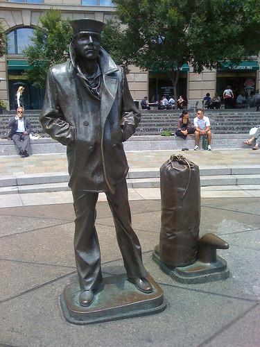 Navy Memorial in Washington DC - Taken With An iPhone