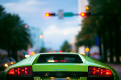miami beach (miami fever) Tags: green public car exotic miamibeach lamborghini murcielago collinsavenue 105mmf18ais lp640 verdeithaca