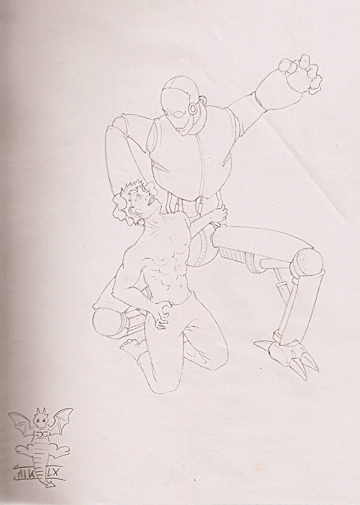Killer Robot Drawings