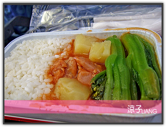 港龍飛機餐06