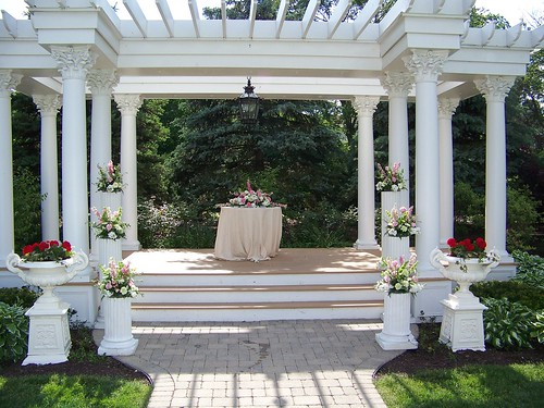 wedding candle centerpiece The marriage ceremony Outdoor Wedding Ceremony at