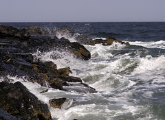 A Special Place (Sister72) Tags: ocean water pier rocks waves nj spray deal monmouthcounty atlanticocean iwanttojumpin