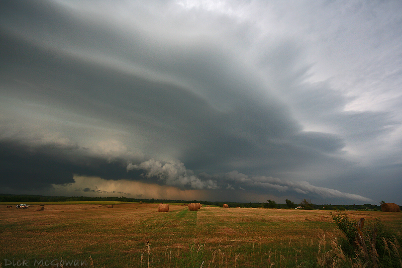 Holton, Kansas Shelf Cloud