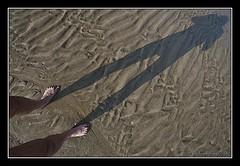 Me (Eddy Westveer) Tags: sunset selfportrait beach photoshop project fkk naakt cs3 366 nudistbeach oostkapelle naakststrand