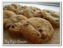 Chocolate Chip & Hazelnut Cookies (pigpigscorner) Tags: food cooking recipe dessert photography cuisine pig baking blog cookie sweet chocolate chewy desserts delicious chip recipes dishes savoury hazelnut pigpigscorner