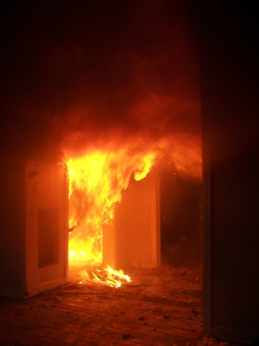 Structure fire 5