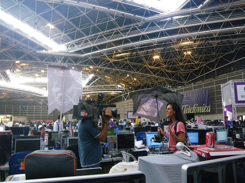 CANAL 9 feat. Pileus at Campus Party