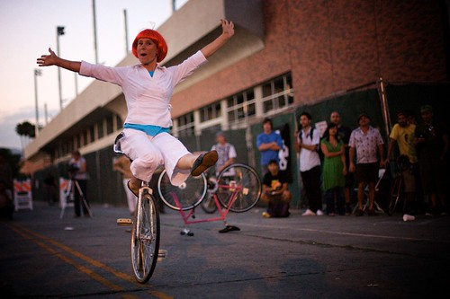 Artistic Cyclist Ines Brunn: Encore