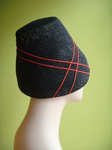 Back view of the hat
