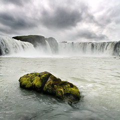 Goafoss (Sindri Svan) Tags: green nature water canon square iceland power yeah wideangle sleepy 1022mm godafoss justonemore goafoss shouldigetmyselfanotherbeer