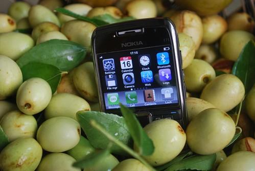 Myphone among jujubes