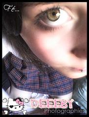 ~. (OjitosDeColor ~ Deeeby!) Tags: piercing ojosverdes deborah mujeres deby