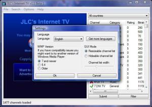 JLC's Internet TV v1.1.0