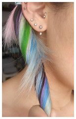 Good bye faded rainbow (China DoII) Tags: colors hair rainbow faded dye dyed chinadoll
