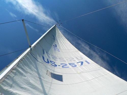 sailboat vermont sailing sail lakechamplain j24 mainsail dvsphotos