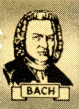 Wright-Way Award Seals - Bach (Close-Up)