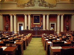 Minnesota State House of Representatives Chamber