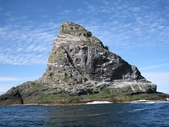 Stac An Armin - the highest sea stack in the UK at 196 metres
