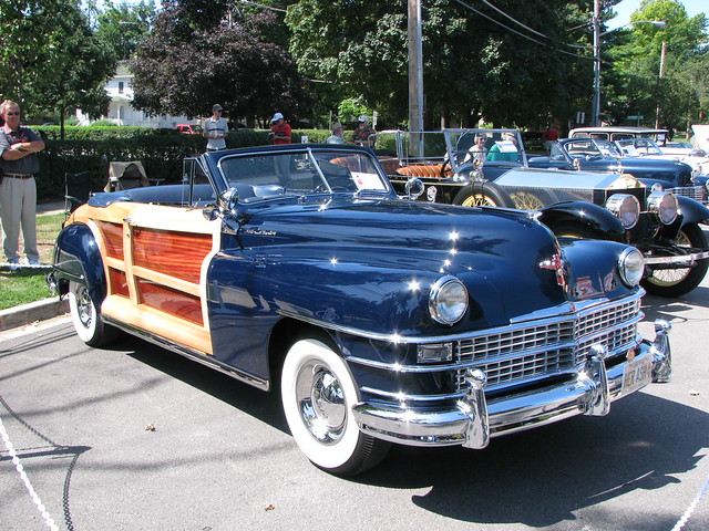 classic car illinois convertible 2008genevaconcoursdelegance 1947chryslertownandcountry