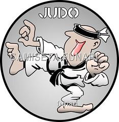 judoca humor desenho judo