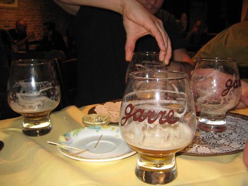 Brugge - Empty beer!