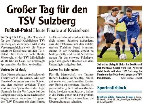 2008-09-03 - TSV Sulzberg Pokalfinale Mindelheim - AZ