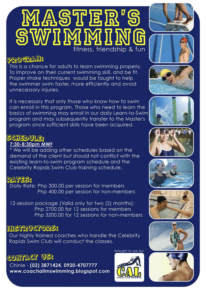 CAL Master's Swimming Details