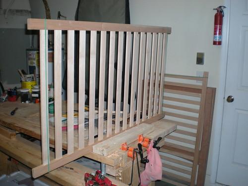 Assembled rails