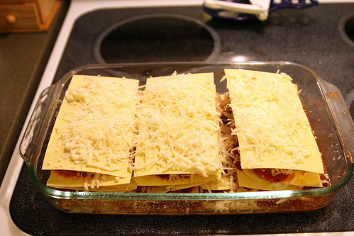 Lasagna (just before going in the oven)
