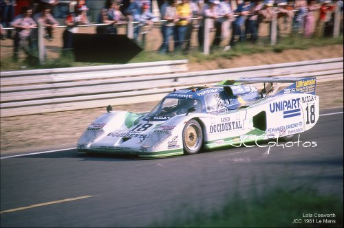 Le Mans 1981 Lola T600