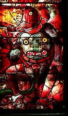 Satan (robin.croft) Tags: stainedglass medieval fairford