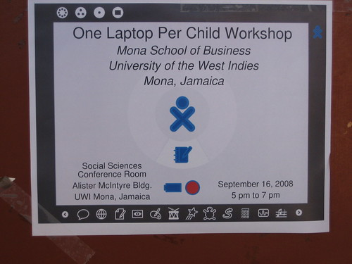 OLPC Workshops at Mona School of Business