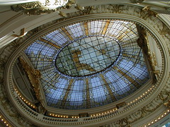 Tiffany Glass Ceiling - P6120052.JPG
